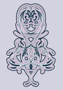 Free Stylized Pattern Of Plant Elements Royalty Free Stock Photo - 27562905