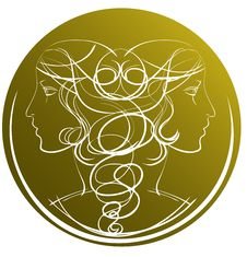 Free Zodiac Gemini Royalty Free Stock Photo - 27562915