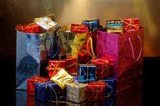 Free Christmas Shopping Stock Photo - 27564420
