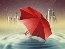 Free Umbrella Royalty Free Stock Photography - 27566337