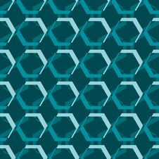 Abstract Vintage Seamless Pattern. Stock Photography