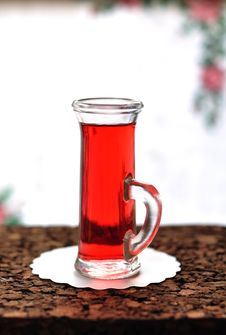 Free Red Currant Liqueur Royalty Free Stock Images - 27568199