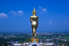 Black Golden Buddha Statue Royalty Free Stock Photos