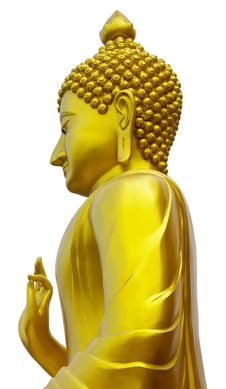 Free Standing Buddha. Royalty Free Stock Images - 27569639