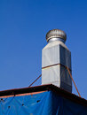 Free Ventilation Chimney Royalty Free Stock Image - 27571286