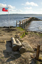 Free Culross Pier On The River Forth Royalty Free Stock Photography - 27573287