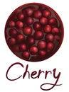 Free Cherry Jam Royalty Free Stock Photo - 27577215
