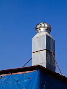 Ventilation Chimney Royalty Free Stock Image