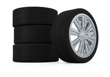 Free Tires And Rims Royalty Free Stock Photography - 27573477