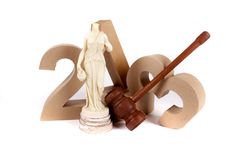 2013 In Paper 3D Numbers Stock Photo