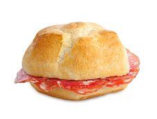 Free Sausage Sandwich Stock Photography - 27576202