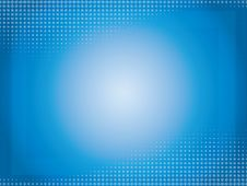 Free Blue Halftone Background Stock Images - 27578164