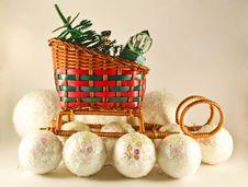 Free Christmas Sledge Stock Images - 27578904