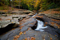 Free Autumn Forest Rocks Creek In The Woods Royalty Free Stock Photo - 27580715