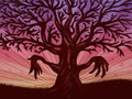 Free Big Leafless Tree Royalty Free Stock Images - 27582469