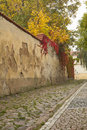 Free Autumn Morning In An Old Streets Of Prague. Stock Photos - 27583243