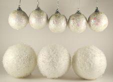 Free White Balls Stock Image - 27581001