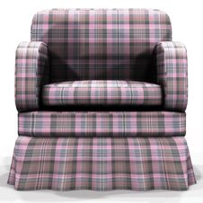 Free 3d Armchair Royalty Free Stock Photo - 27582465