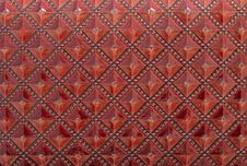 Free Red Leather Texture Royalty Free Stock Photos - 27582658