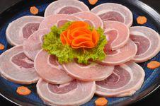 Beef Carpaccio Stock Photography