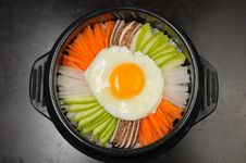 Free Bibimbap Royalty Free Stock Photos - 27584068