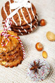Free Christmas Cookies Stock Image - 27585731