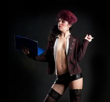 Free Sexy Lady Royalty Free Stock Photography - 27586537