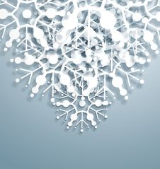 Free Overlapping Snowflakes Stock Photo - 27587940