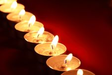 Free Lighting Candles Stock Photography - 27588362