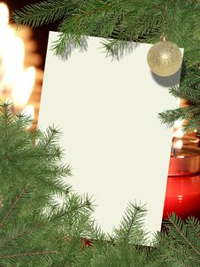 Free Christmas Greeting Card Royalty Free Stock Images - 27588369