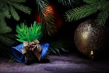 Free Vintage Christmas Decoration Stock Image - 27588371