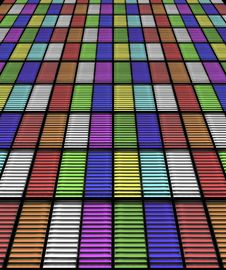 Free Color Shutters Stock Images - 27590964