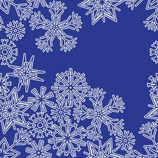 Free Snowflakes Royalty Free Stock Images - 27591049