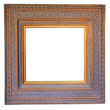 Free Vintage Wood Photo Frame Stock Photos - 27592093
