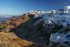 Free Santorini S Unique View At Sunrise. Greece. Royalty Free Stock Image - 27593026