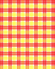 Free Red Yellow Squares Pattern Stock Photo - 27595070