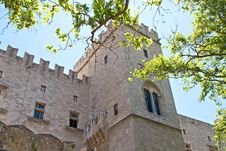 Free Castle Of The Knights At Rhodes Royalty Free Stock Photography - 27595277