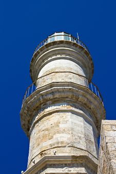 Old Lighthouse. Crete Royalty Free Stock Photography
