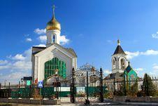 Free The Orthodox Parish Of St. Sergius Of Radonezh Royalty Free Stock Photos - 27599198