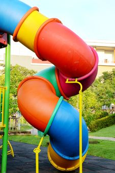 Free Children Playground. Stock Photography - 27599782