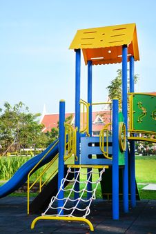 Free Children Playground. Stock Photography - 27599912