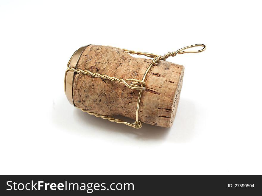 Cork stopper for wine