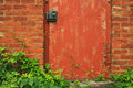 Free Abstract Vintage Red Door Stock Images - 2762644