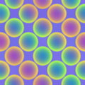 Free Repeat Pattern With Circles Royalty Free Stock Photos - 2764758