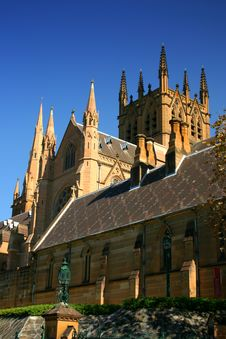 St Mary S Cathedral, Sydney Stock Photo