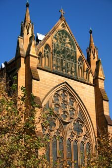 Free St Mary S Cathedral, Sydney Stock Photos - 2760053