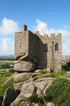 Carn Brea Castle 2 Royalty Free Stock Images