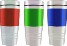 Free Mugs - Vector Illustration Stock Photography - 2760742