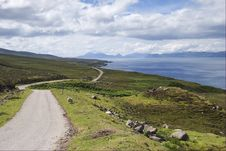 Wester Ross Tourist Trail Stock Photo