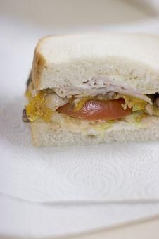 Free Half A Sandwich Stock Image - 2764021